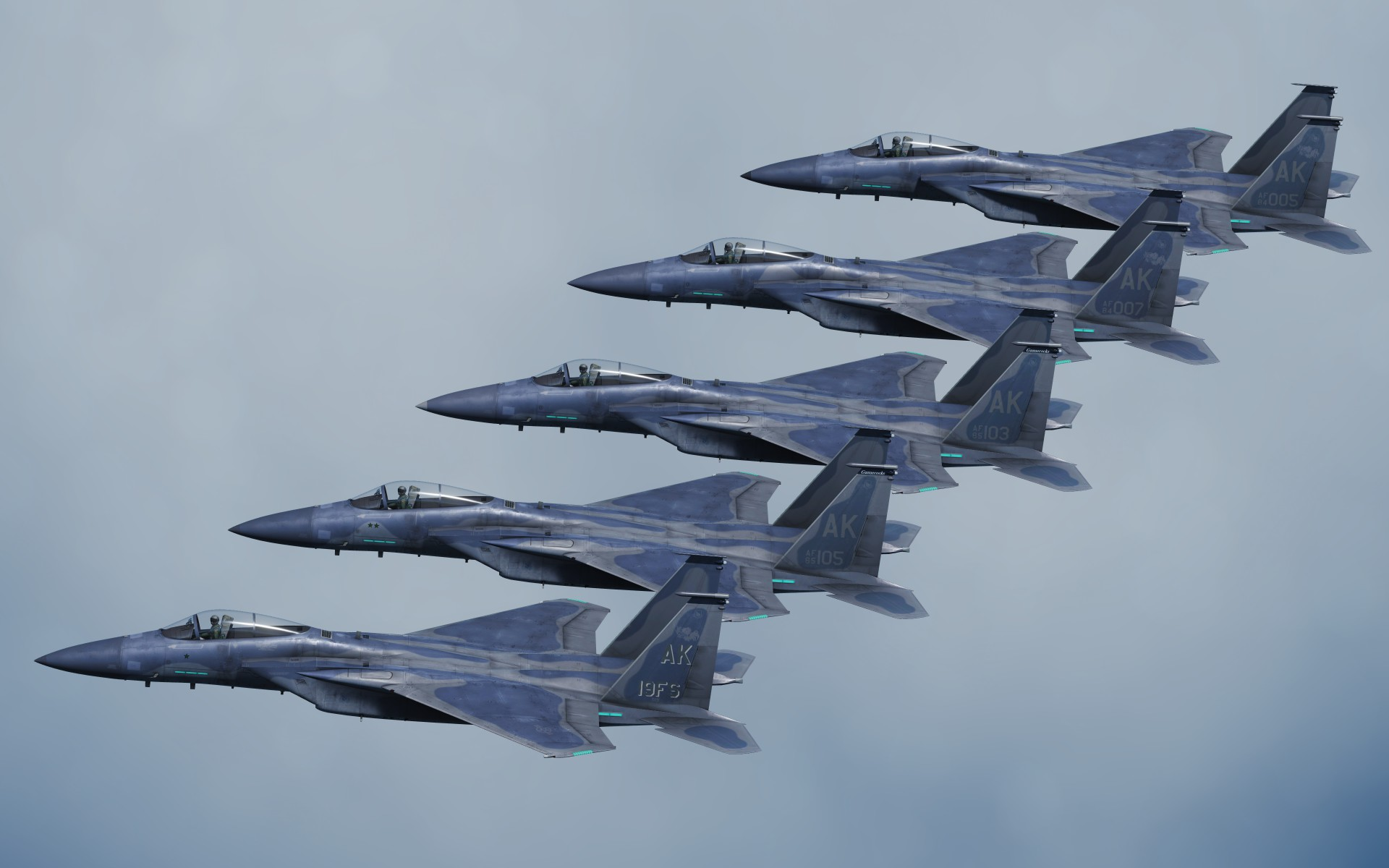 19th Fighter Squadron Gamecocks Skin Pack v1.1