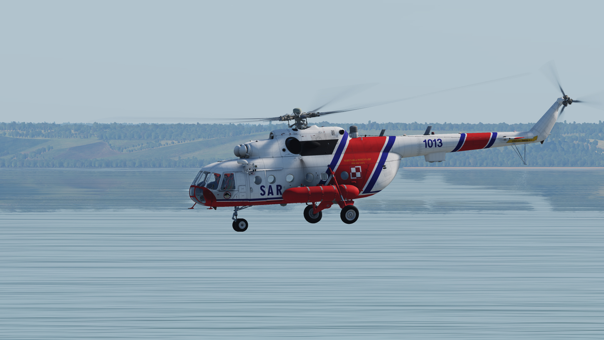 Polish Navy Mi-14 liveries