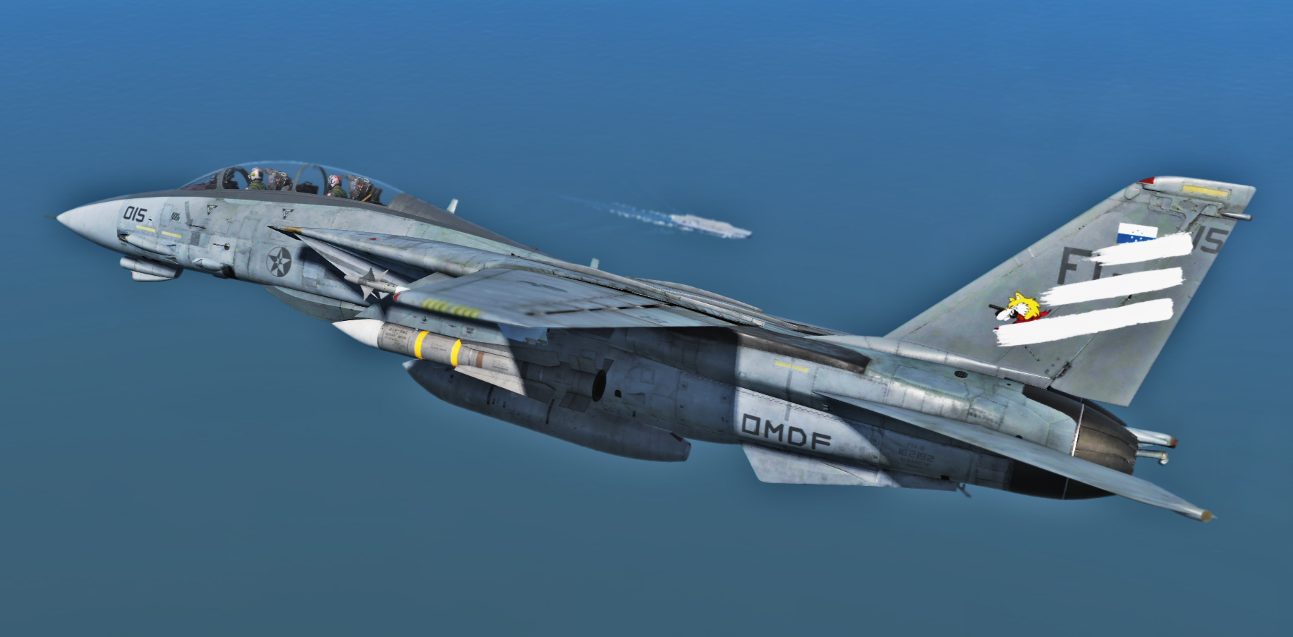 Ace Combat - F-14B Spare 15 skin from Ace Combat 7:Skies Unknown