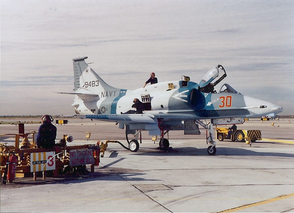 Sea Eagle M07 - THE UNEXPECTED (A Top Gun-inspired mission for the A-4)
