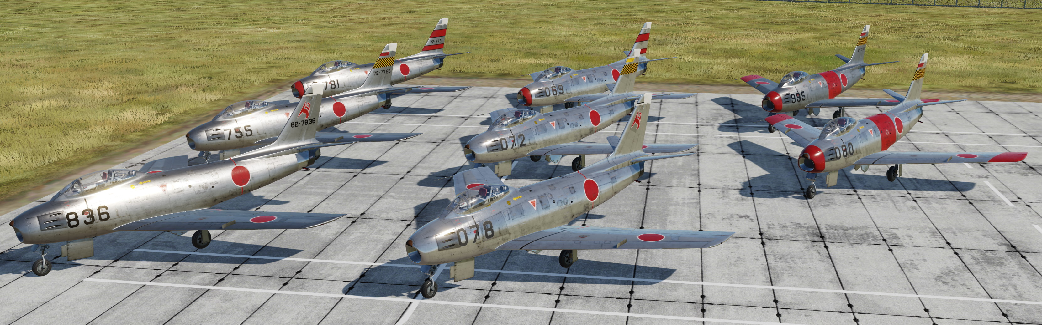 [F-86F] Japan Air Self Defense Forces v3