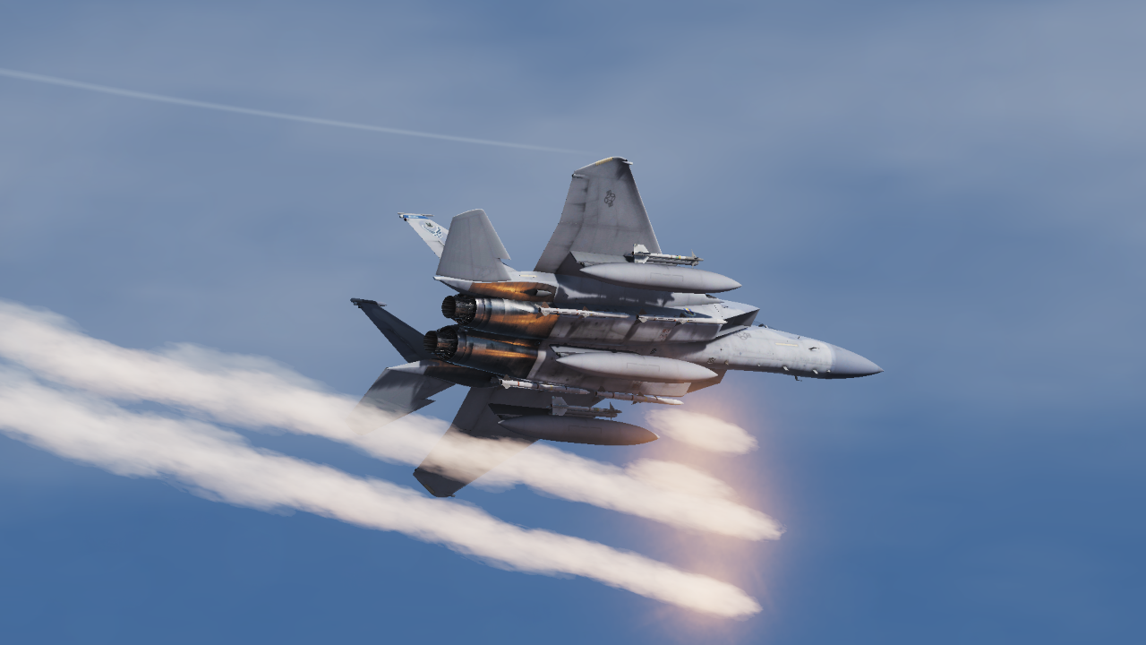 RoughMet Texture Mod for F-15