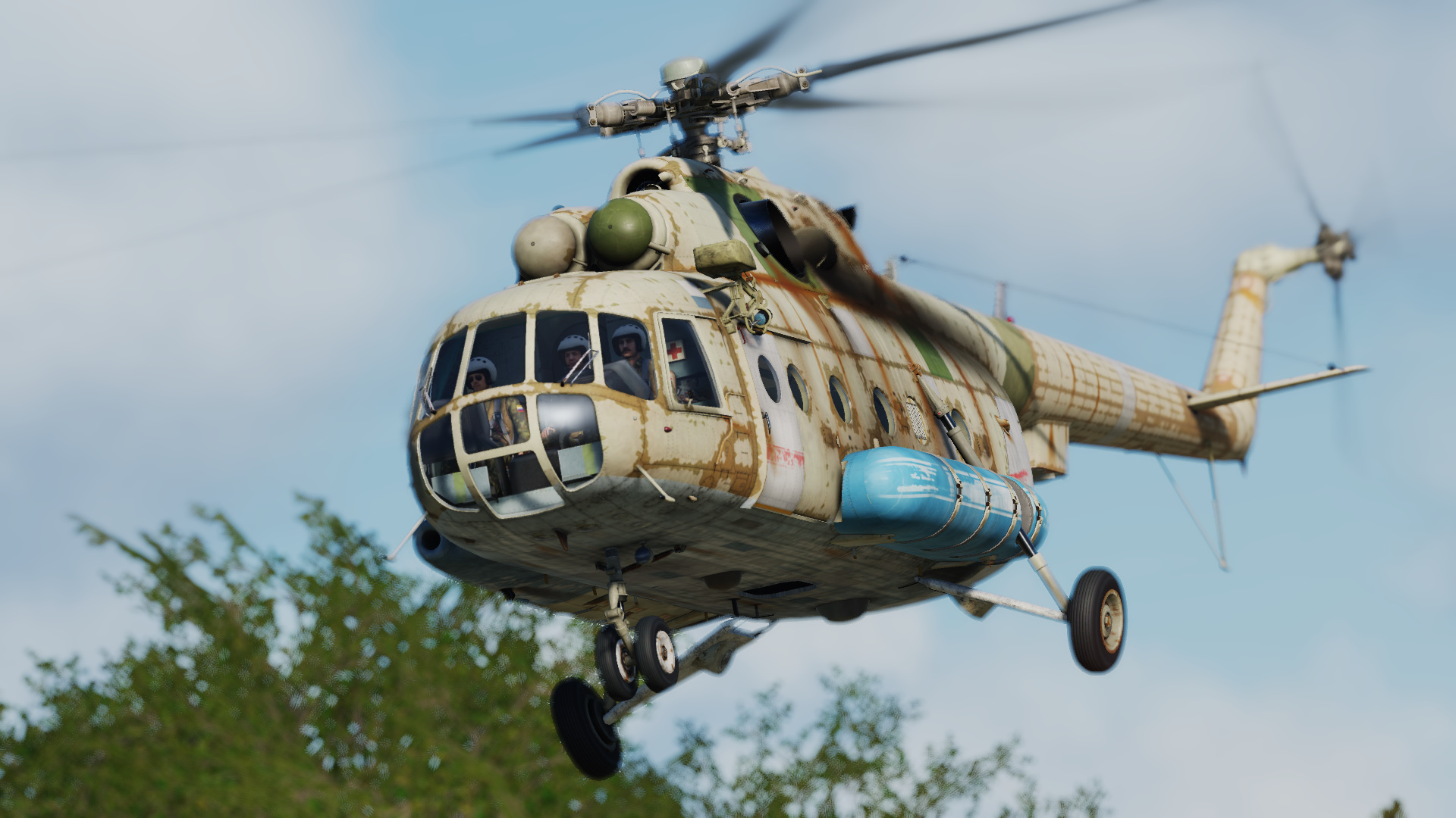 Mi-8 Worn Out Livery