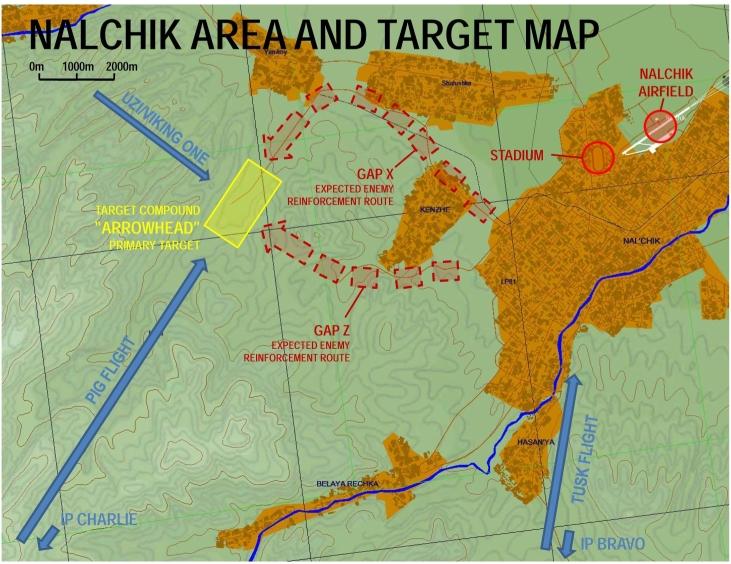 MP Mission Operation Gridiron Player Coop - Nalchik map