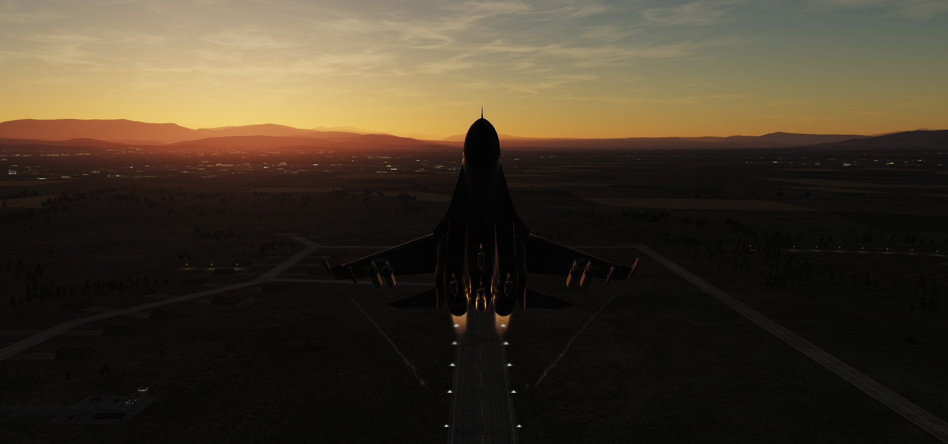 Su-27: Sunrise Takeoff