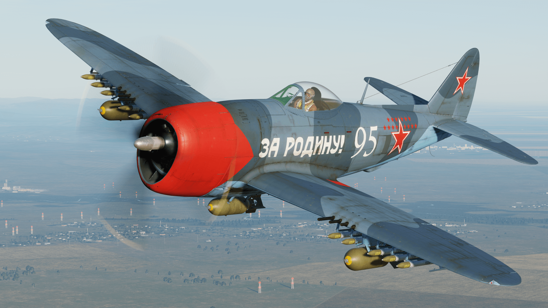 P-47 USSR Air Force (gray-blue color scheme)