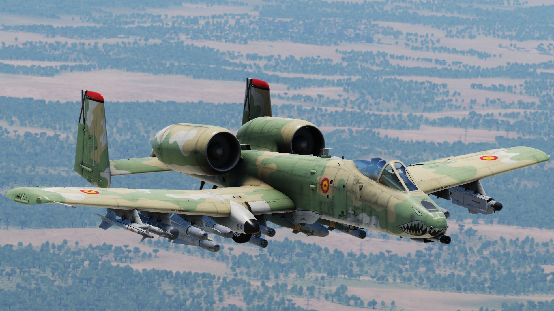 SPAIN FICTIONAL TRITONAL CAMO A-10C II Tank Killer