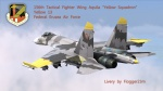 Yellow 13 - 156th Tactical Fighter Wing Aquila for Su-27 (Version 1.0)