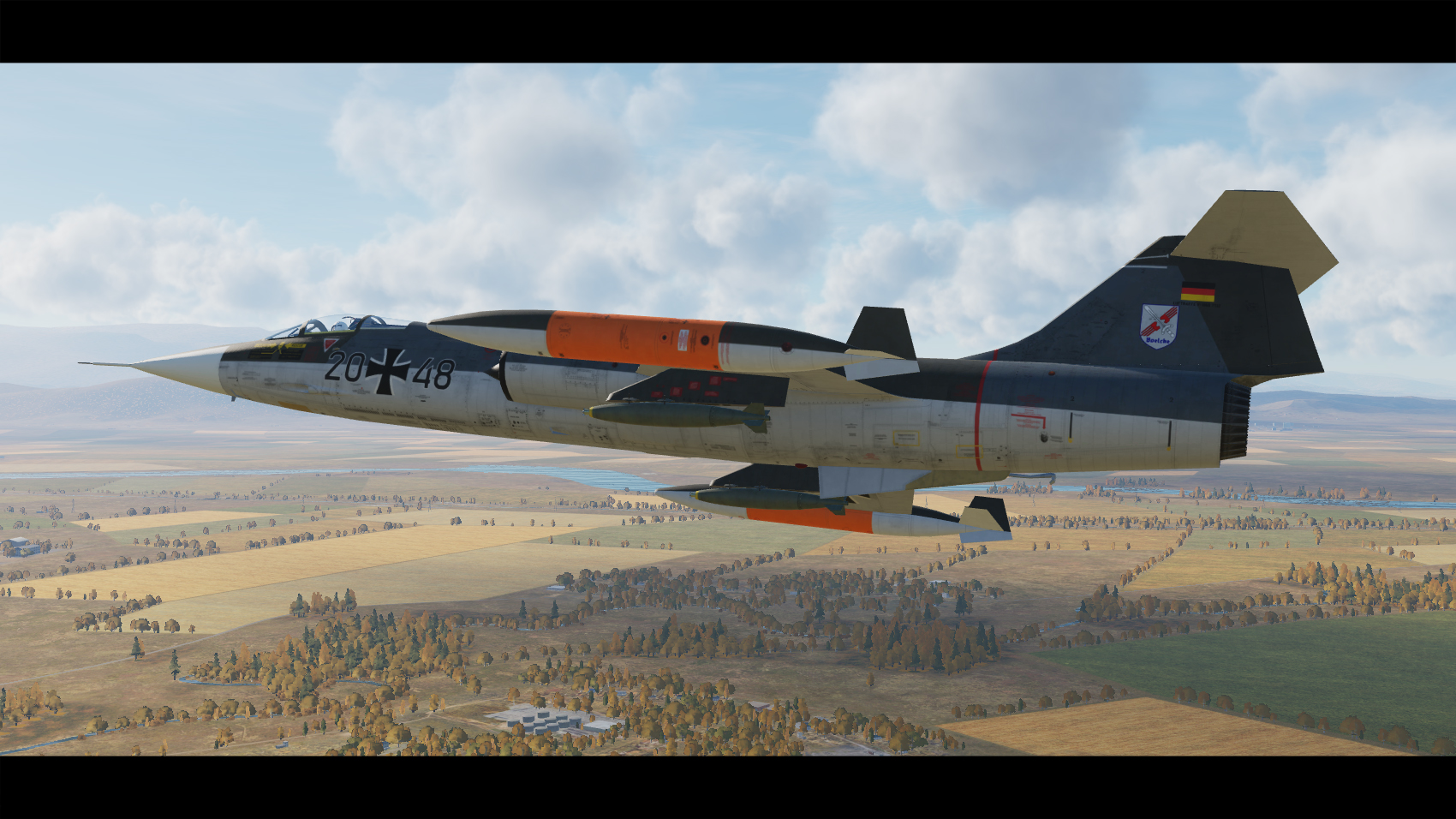 F-104G Starfighter German Highres Skinpack