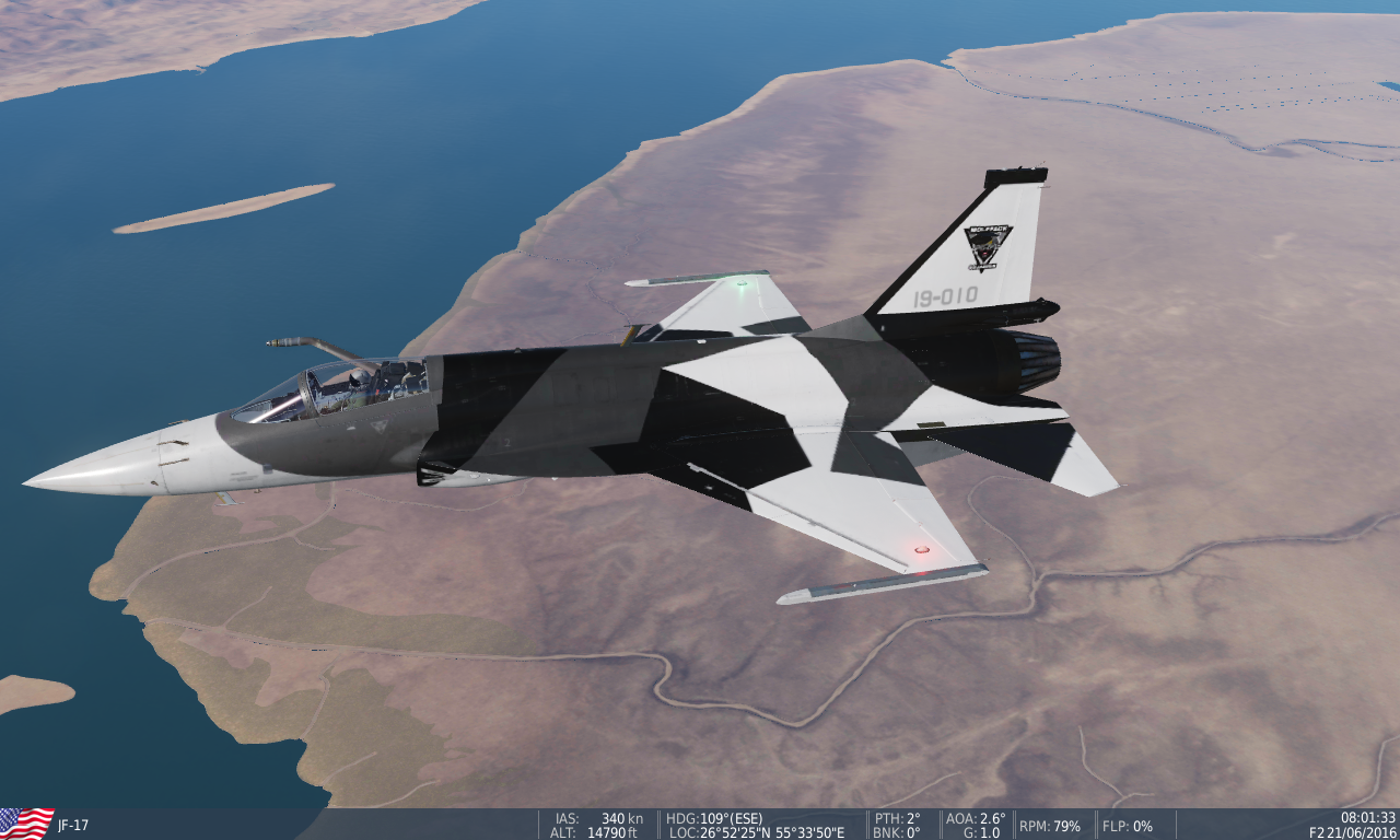 JF-17 Wolfpack Squadron (fictional) Livary / Skin