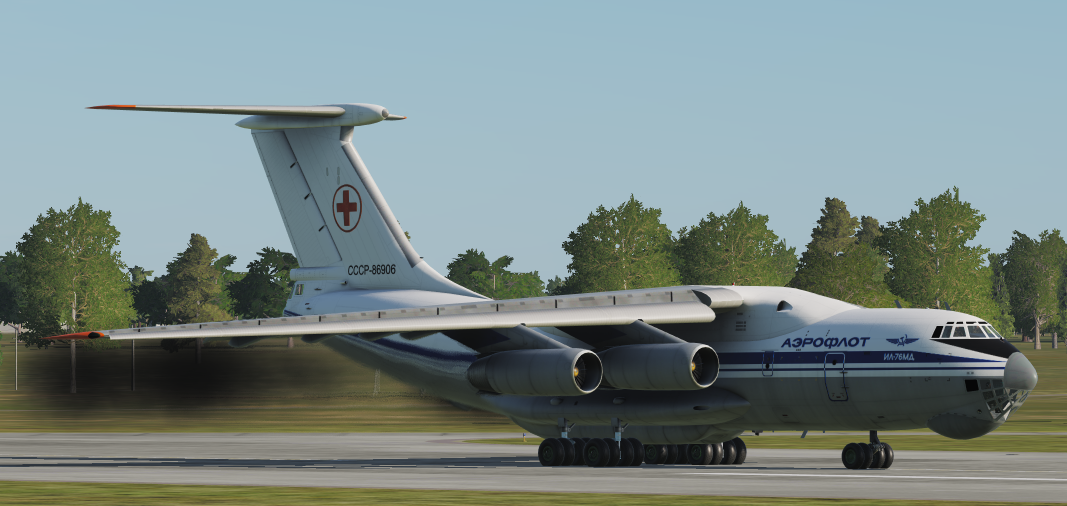 IL-76 Skal'pel-M (Air Ambulance) *Updated 29/04/19*