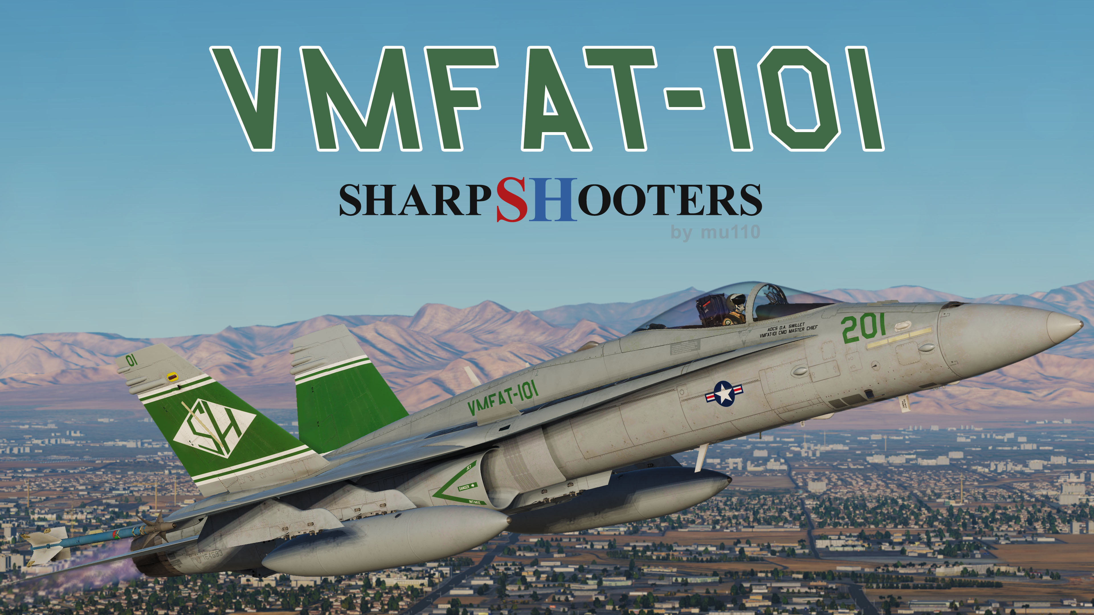 VMFAT-101 Liveries for the F/A-18C!