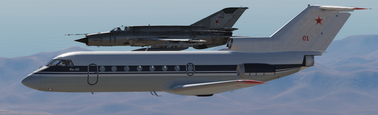 YAK-40 Soviet/Russian Air Force