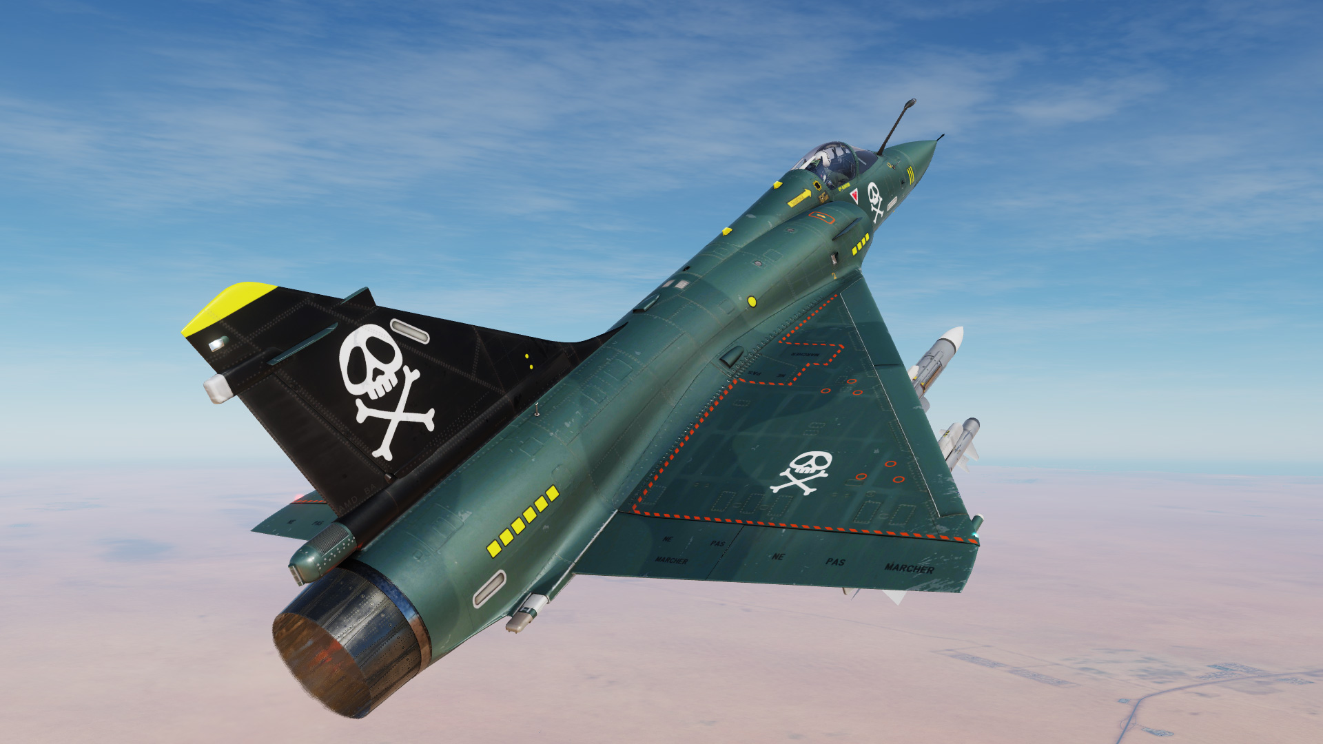 Mirage-2000C Capitaine ALBATOR