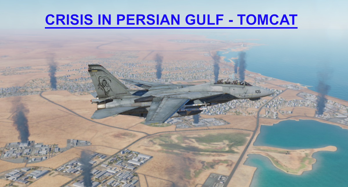 Crisis in Persian Gulf Tomcat CVN Light version using Mbot Dynamic Campaign Engine