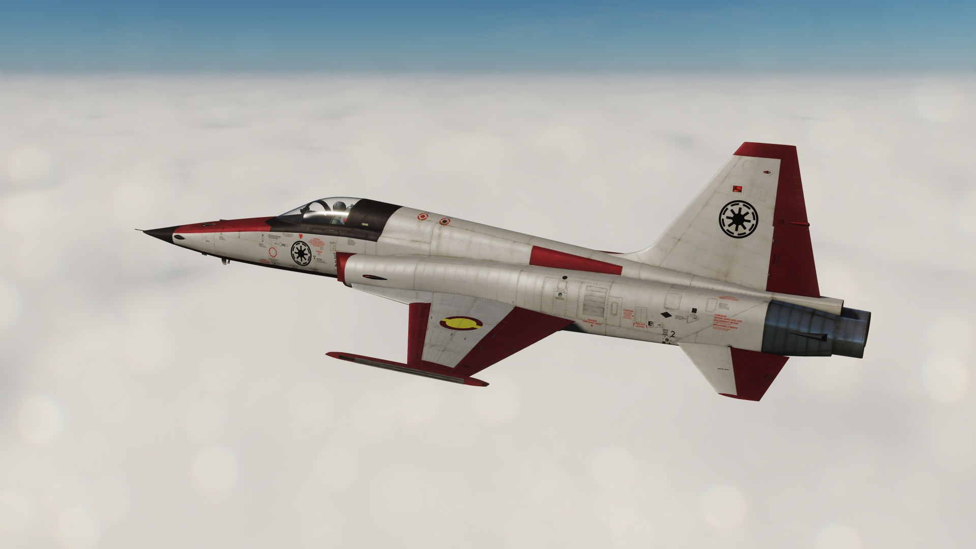 F-5E Tiger Star Wars Z-95 Headhunter