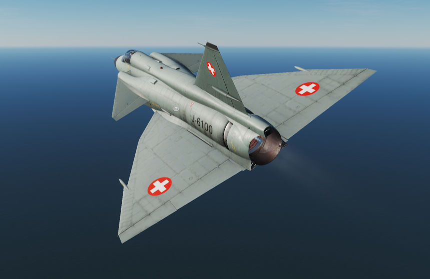 AJS37 Viggen, Fictitious Swiss Air Force Skin
