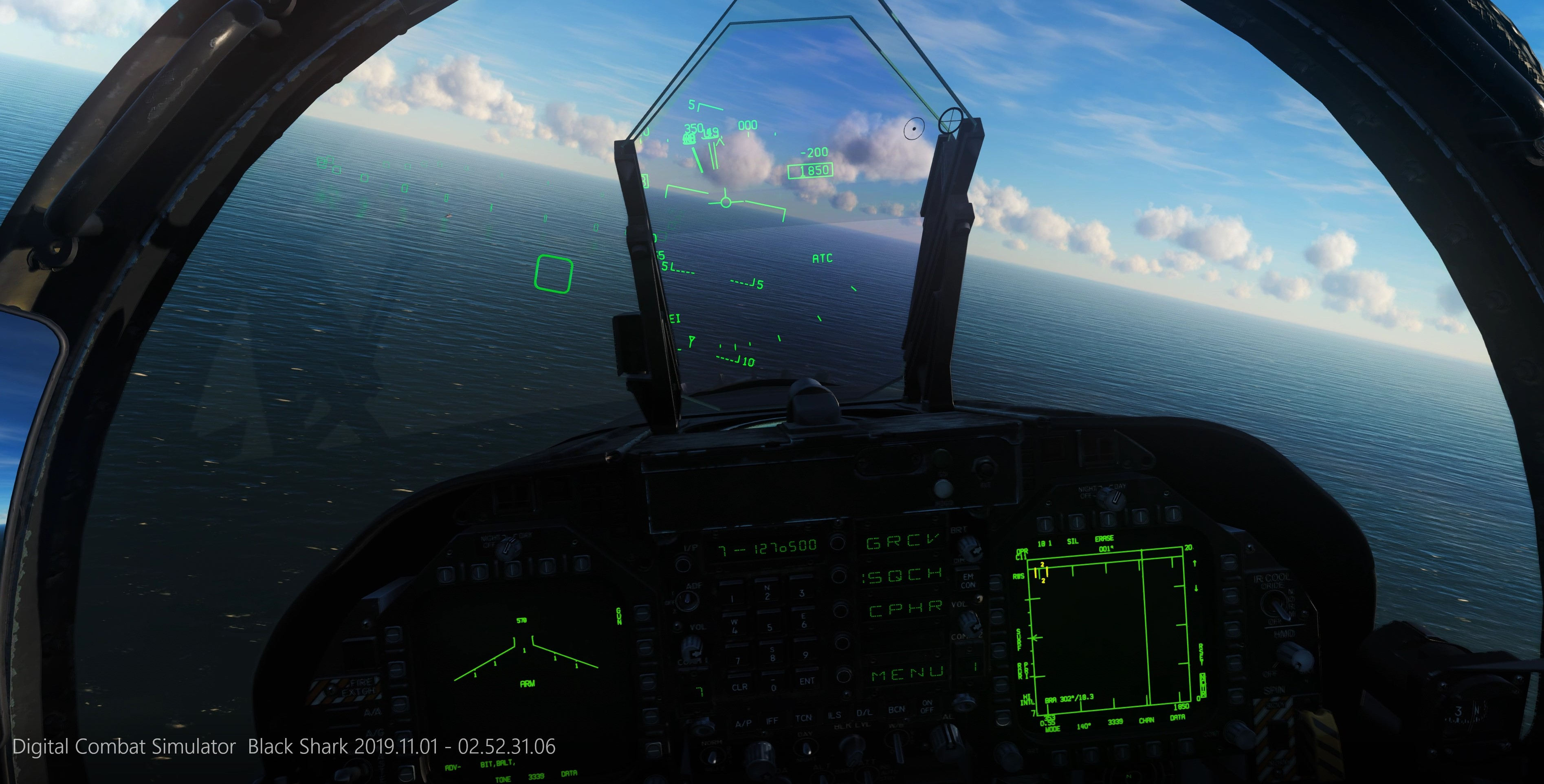 F/A-18 Case 1 Carrier Landing Practice w/ LSO support - Caucasus