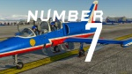 "L-39 ""Patrouille de France"" Number 07"