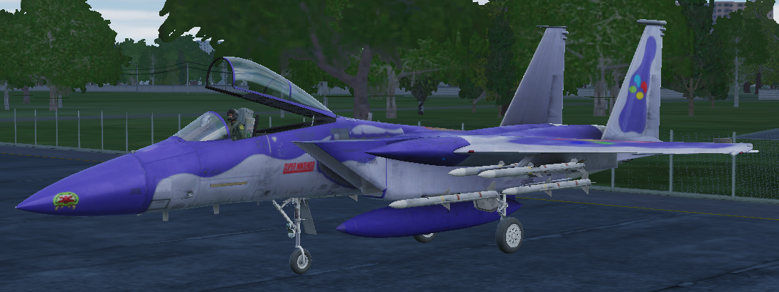 F-15C SNES Livery [Fictional]