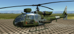 UK Royal Marines SA342 Skin With Pilots