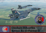 Clayburn Industries Security Forces, Su-33 Flanker-D - Armored Warfare (CI BR)