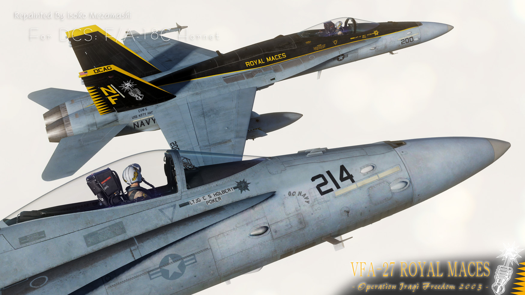 "F/A-18C HORNET ""VFA-27 ROYAL MACES"" 2003"