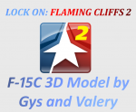 F-15C 3D Model by Gys and Valery for Lock On: Flaming Cliffs 2