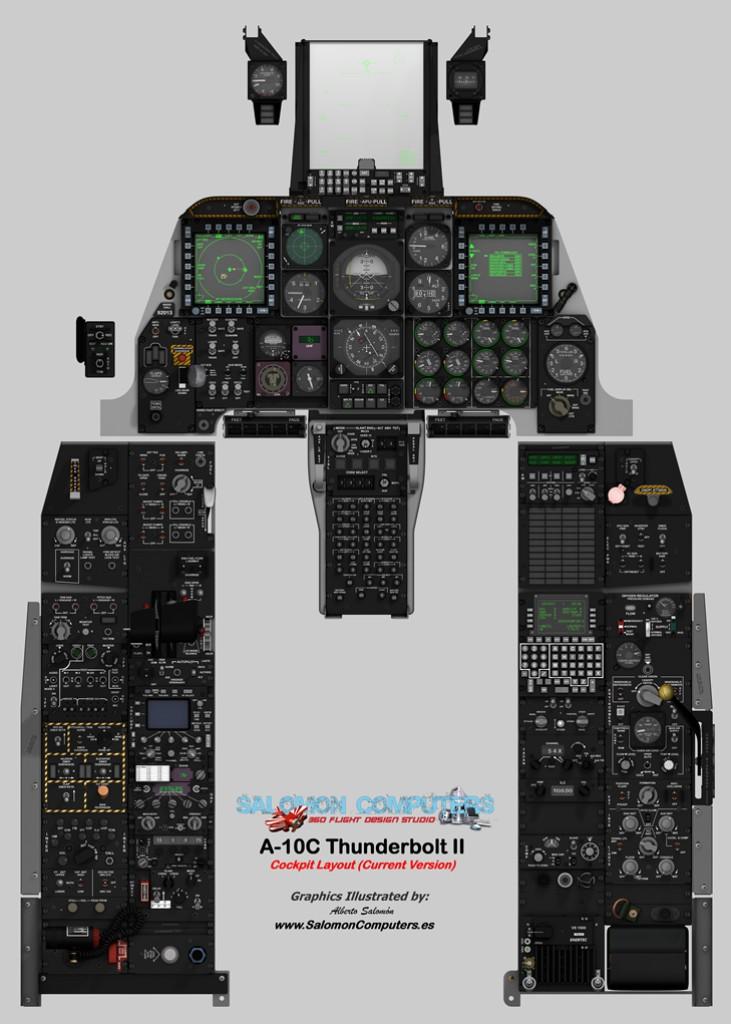A-10C pit Layout on