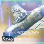 DCS F-86F Weathered USAF Digital Camo Liveries - Not Compatible w/ 2.5.4+