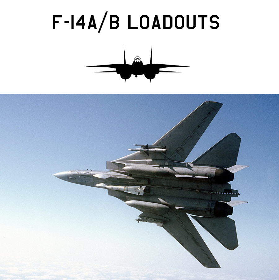 F-14 Loadouts / Stores Configurations