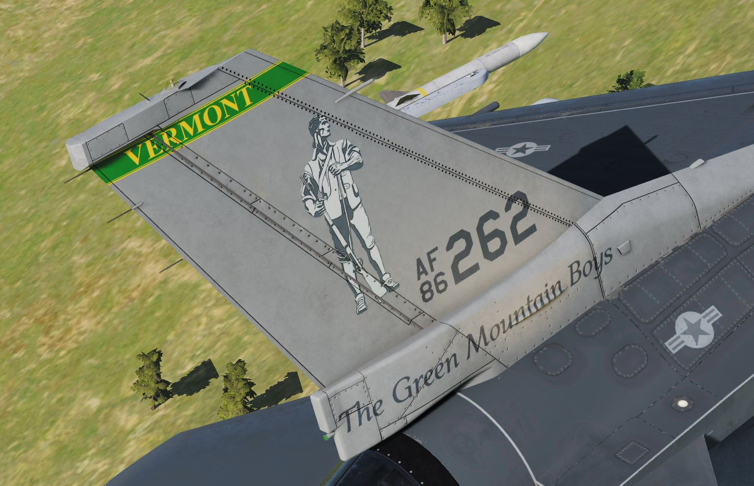 F-16C 134th FS, 158th FW, Vermont Air National Guard [v2.0]