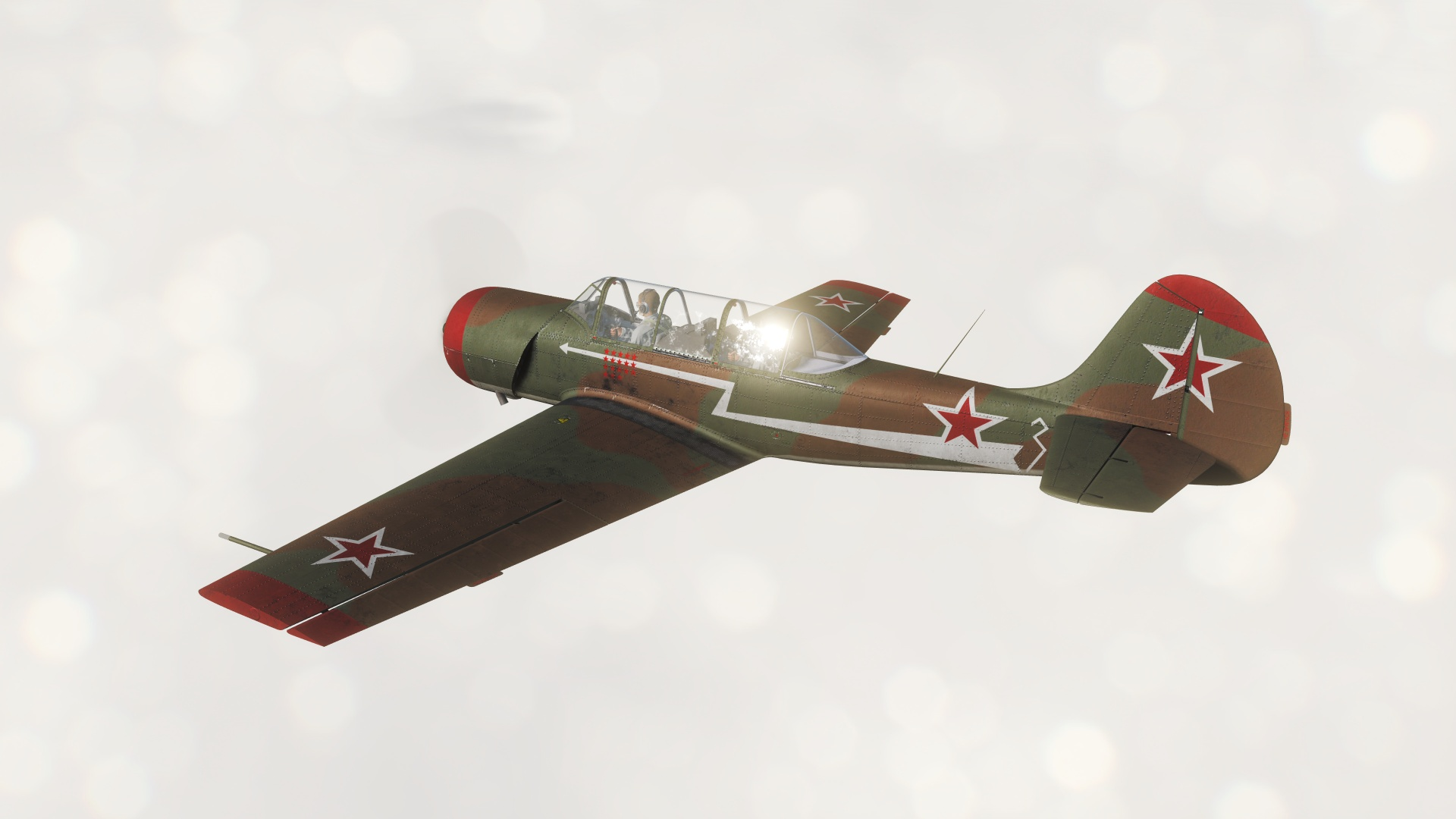 Yak-52 Soviet Air Force WW2