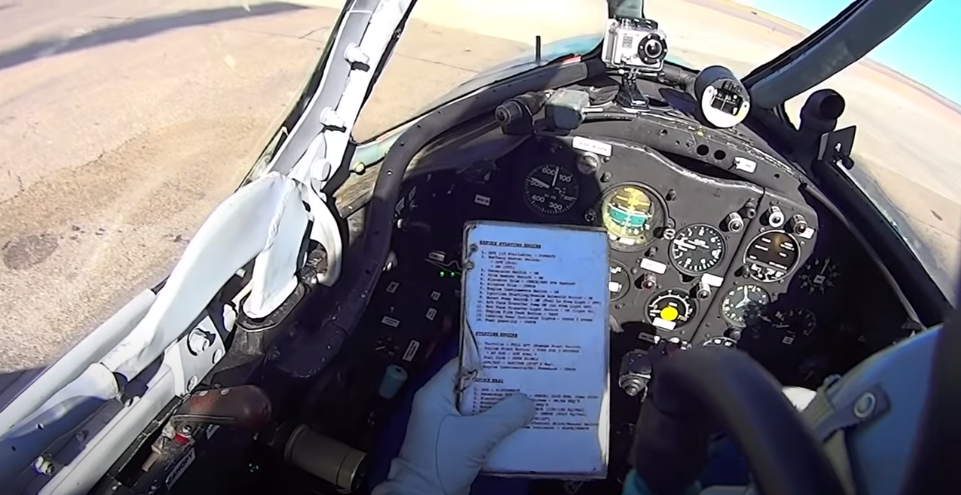 MiG15bis Detailed Checklist with Emergency Procedures