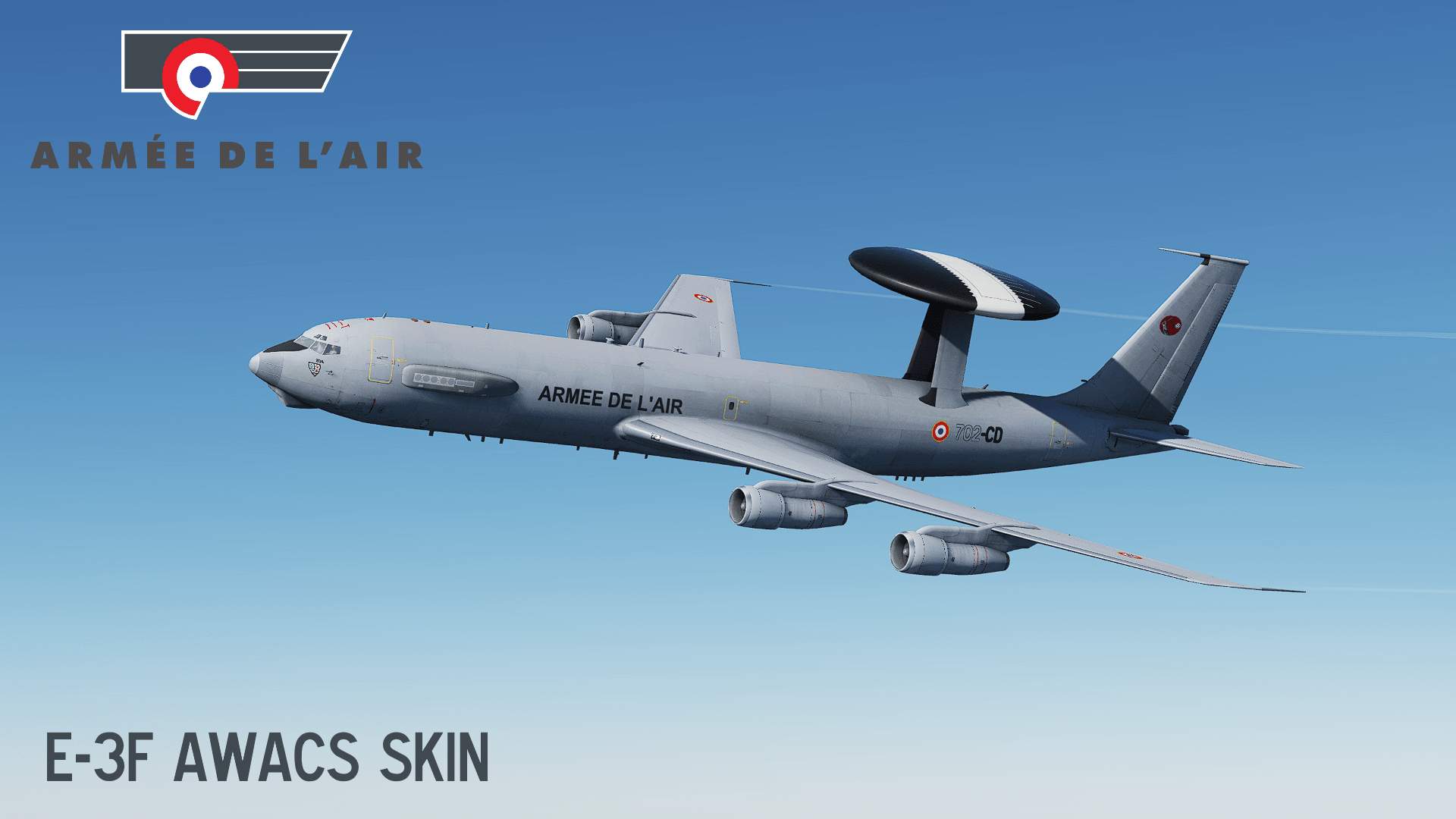 French Air Force E-3F