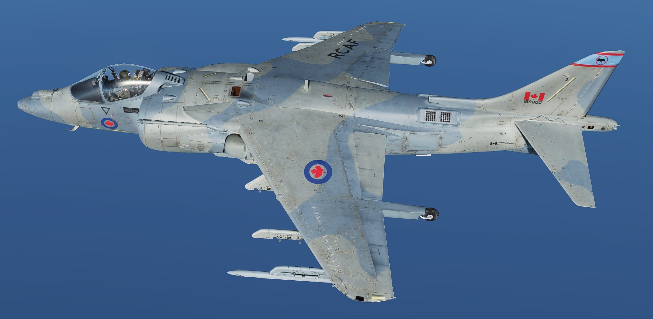 RCAF Harriers Light Grey camo pack 3 (Fictional)