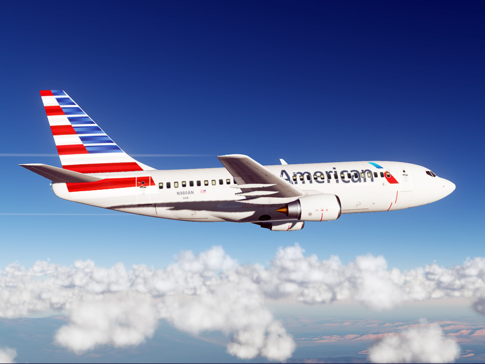 American Airlines Boeing 737 (Modern Paint for Civil Aircraft Mod)