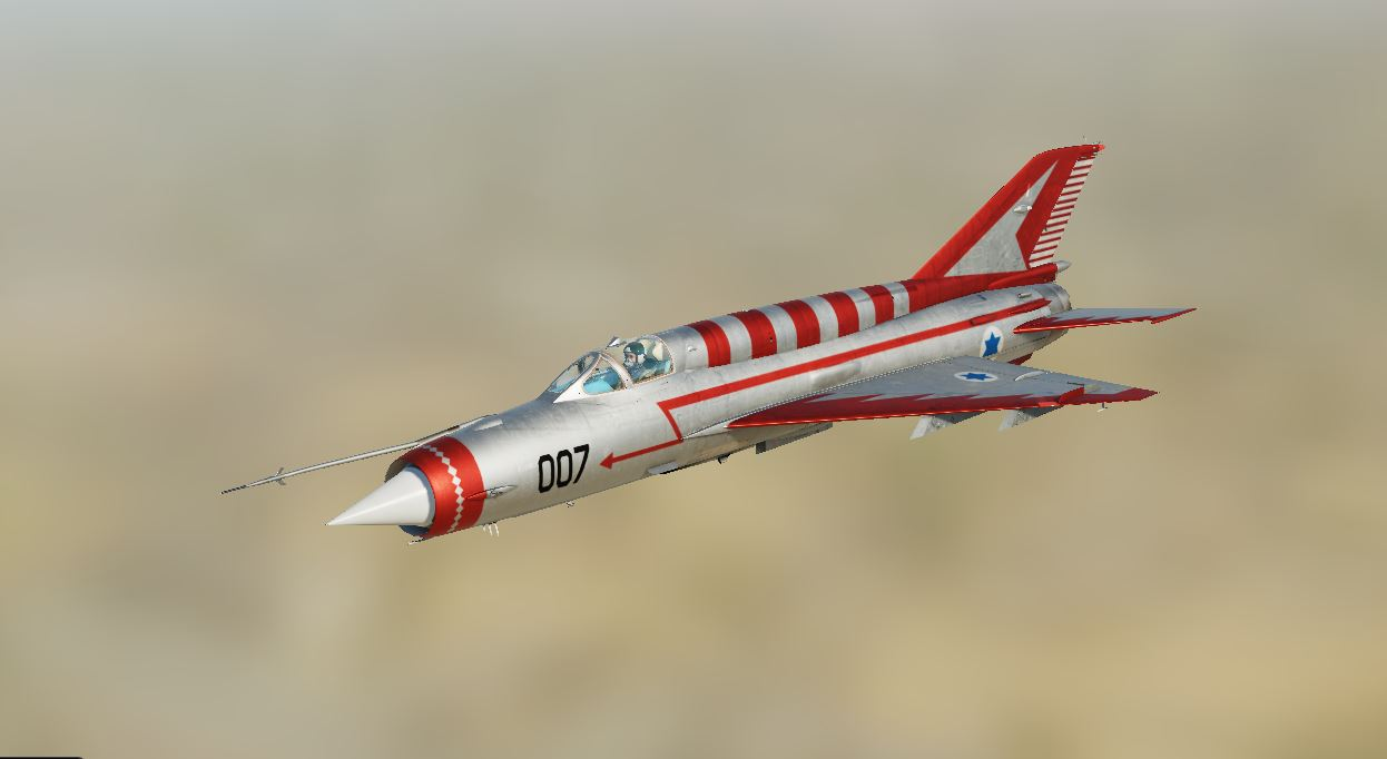MIG 21 - IAF - Defector - Number 007