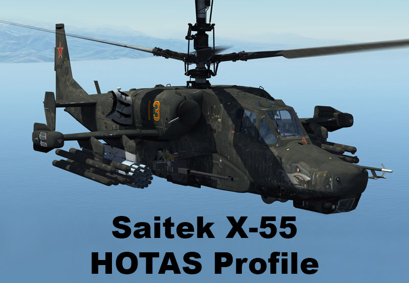 Ka-50 Black Shark Saitek X55 Profile