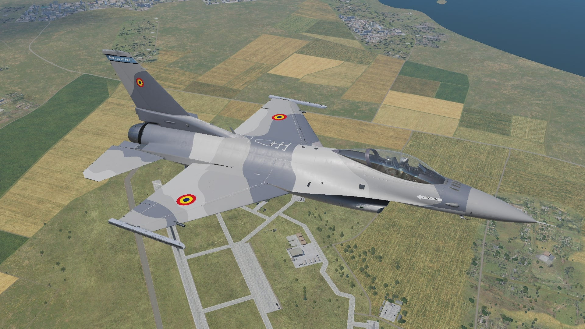Romanian Air Force F16