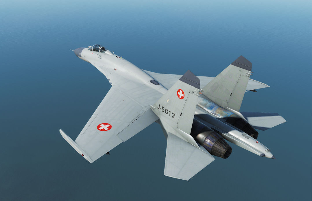 J-11A Fictional Swiss Air Force Skin (DCS 2.5.3+)