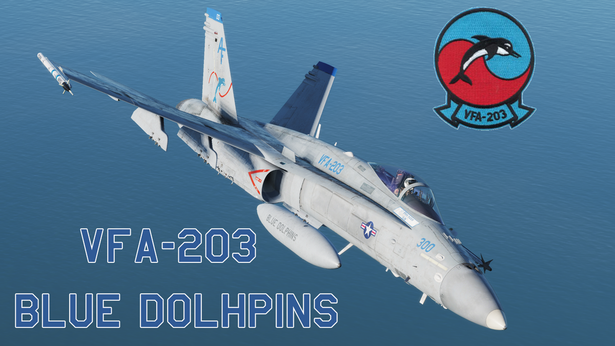 VFA-203 Blue Dolphins