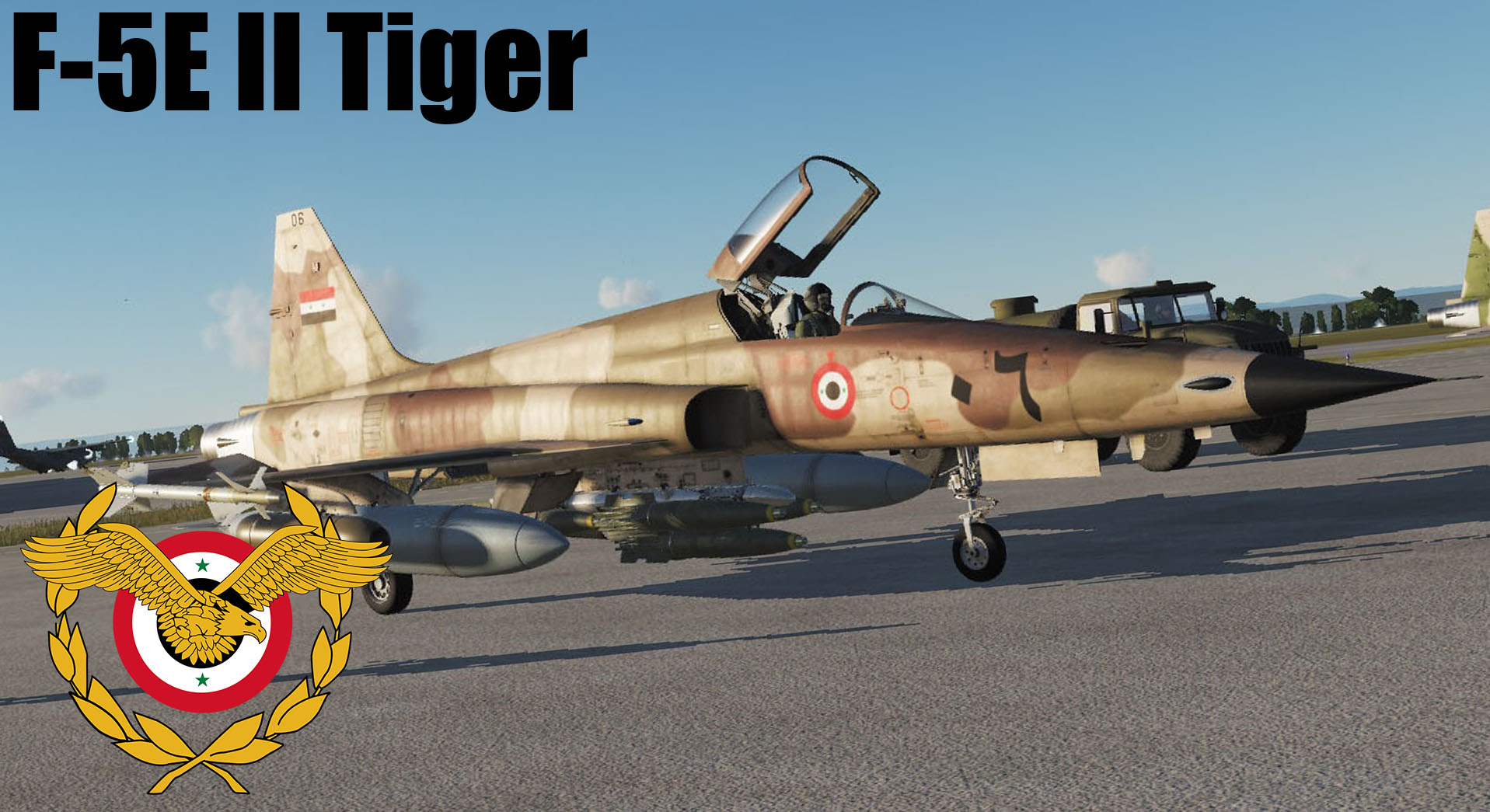 Syrian Arab Airforce F-5E Tiger II ! FICTIONAL ! Syrian Arab Army