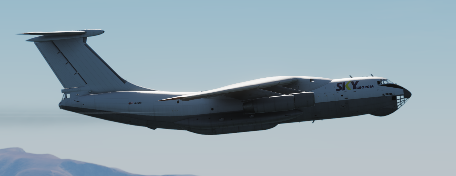 IL-76 Civilian Cargo  2 pack *Updated 29/04/19*