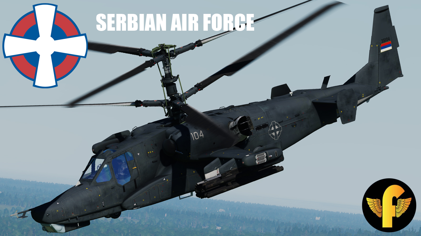 "Serbian Air Force 714. phe ""Senke"" Fictive"